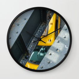 New York City Cab Wall Clock