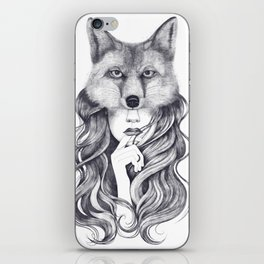 Fox in soul iPhone Skin