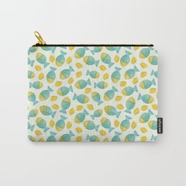 Fish and Lemons Carry-All Pouch