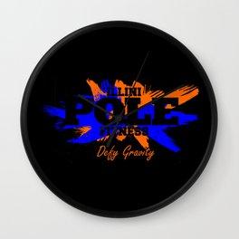 IPF Paint Design 2 Wall Clock