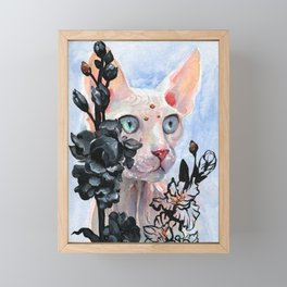Gladioulus Framed Mini Art Print