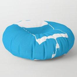 Minimalist 50/50 Floor Pillow