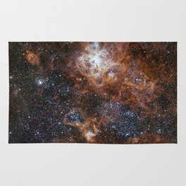 Tarantula Nebula in the Large Magellanic Cloud Rug