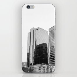 Boston Rooftop Views iPhone Skin