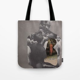 I never learned how to grieve and now that I need to I feel so lost...what do I do? Tote Bag