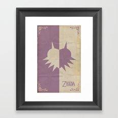 Majoras Mask Framed Art Print