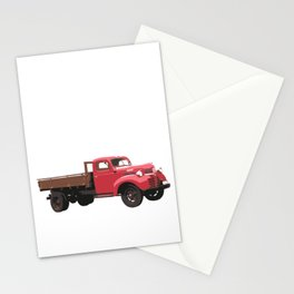 I'm Trucked Screwed Up Crazy Farmer Farming Truck Stationery Cards