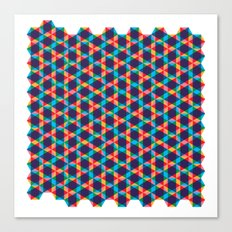 BP 78 Star Hexagon Canvas Print