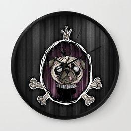 _royally pugged Wall Clock