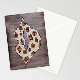 Leopard Lips Stationery Cards