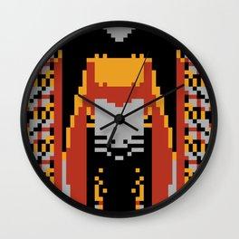 The Cicada And Hawk Moth Wall Clock