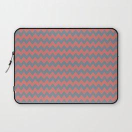 BLINK - blue & pink hand-drawn waves Laptop Sleeve