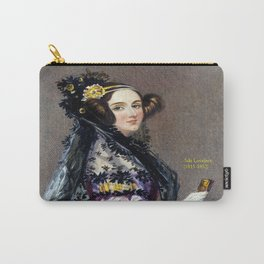Portrait of Ada Lovelace by Alfred Edward Chalon Carry-All Pouch