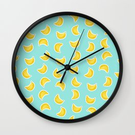 Banana Craze Wall Clock