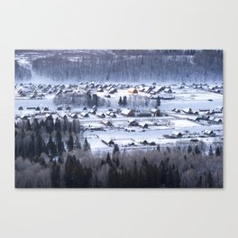 Snow Kanas Canvas Print