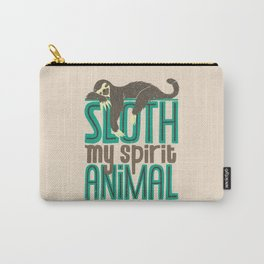 Sloth Is My Spirit Animal Carry-All Pouch