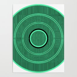 green frequency Poster