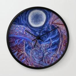Primordial Wall Clock