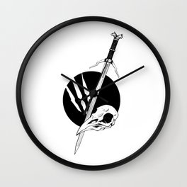 Raven's Claw Wall Clock