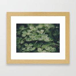 Happy St. Patrick Framed Art Print