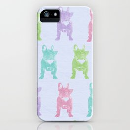 Pop Frenchies iPhone Case