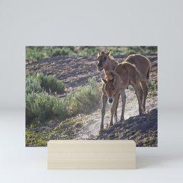 The Wild Foals Mini Art Print