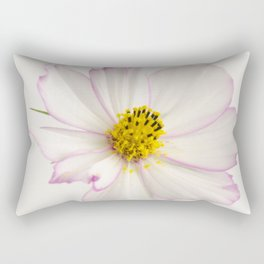 Sensation Cosmos White and Pink Rectangular Pillow