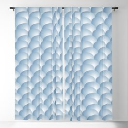 Reach out and touch bubble wrap pattern Blackout Curtain