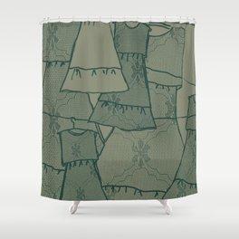 Fridas Dresses Shower Curtain