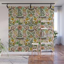Summer Meets Autumn in the Garden  Wall Mural