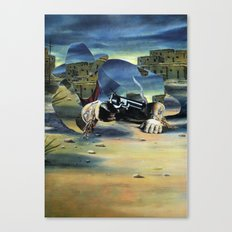 The Unknown Rider in The Lone Hand Canvas Print