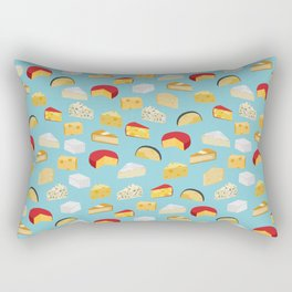 Cheese food gifts food fight apparel and gifts Rectangular Pillow