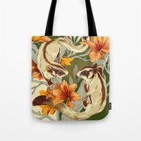 Tote Bags featuring Sugar Gliders by Teagan White