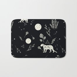 flora panther Bath Mat