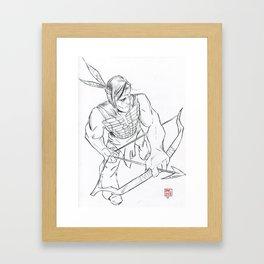 turok Framed Art Print