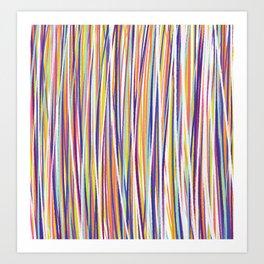 *STRIPE_COMPOSITION_1 Art Print