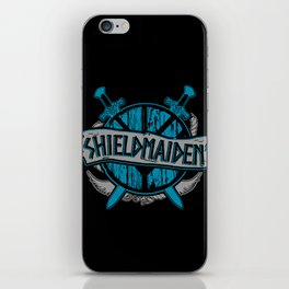 shieldmaiden #3 iPhone Skin