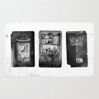 alchemy Area & Throw Rugs featuring Alchemy by Mutt Ink