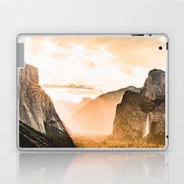 Yosemite Valley Burn - Sunrise Laptop & iPad Skin