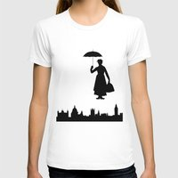 mary poppins T-shirts featuring Mary Poppins by TheWonderlander