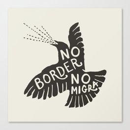 No Border No Migra Canvas Print