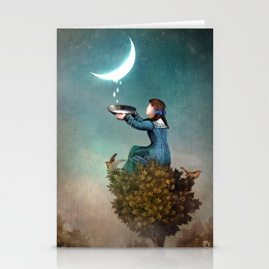 Moondrops Stationery Cards