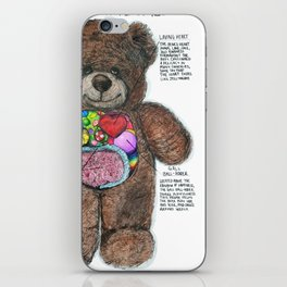 Dissection of a Teddy Bear iPhone Skin