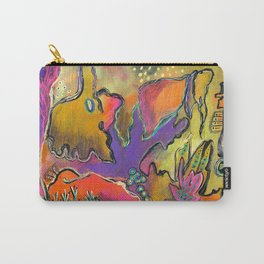 Playful Shapes & Colors Carry-All Pouch