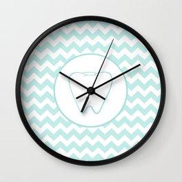 Chevron Tooth Wall Clock