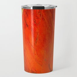 Italian Style Orange Stucco - Adobe Shadows Travel Mug