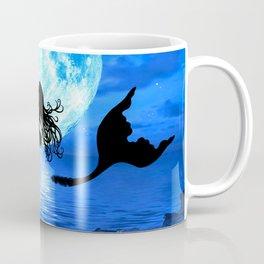 Moonlight Mermaid - Blue Coffee Mug