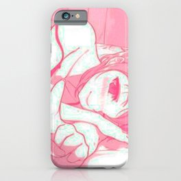 Sexy anime aesthetic - Good morning iPhone Case
