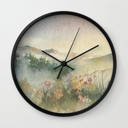 A Foothill Spring Wall Clock