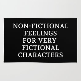 Non-Fictional Feelings for Very Fictional Characters - Inverted Rug